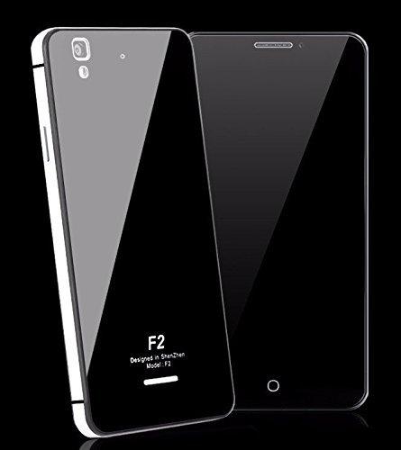 Febelo Branded Luxury Metal Bumper + Acrylic Mirror Back Cover Case For Micromax Yu Yureka / Yu Yureka Plus - Silver Border