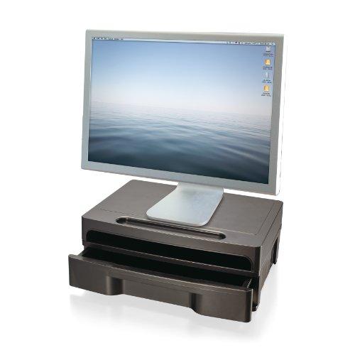 Officemate 2200Series Monitor stehen, mit Schublade, schwarz (22502)