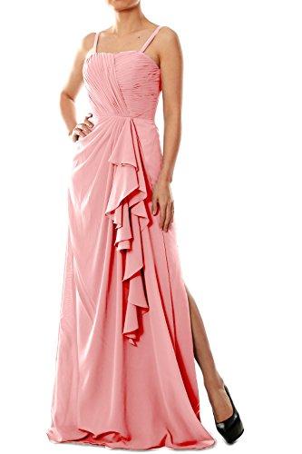MACloth - Robe - Trapèze - Sans Manche - Femme Rose - Blush Pink
