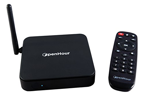 Open-box Apple (Open Hour OH-Gecko 4K / UHD Android Mediaplayer mit optimiertem Kodi Quadcore (1GB RAM, 8GB ROM, USB 3.0, WLAN) schwarz)