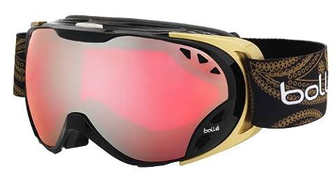 Bollé Goggles Duchess, Shiny Black & Gold Vermillon Gun, 21137