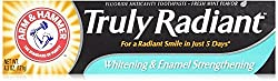 ARM & HAMMER Truly Radiant Whitening & Enamel Strengthening Toothpaste Fresh Mint 4.3oz - 2 Pack