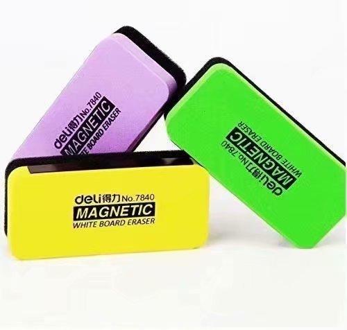 TOOGOO (R) Borrador magnetico pa pizarra multicolor eraser
