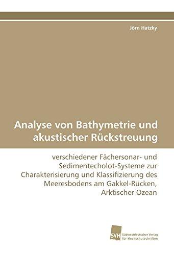 Analyse von Bathymetrie und akustischer Rückstreuung