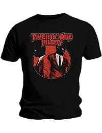 Twenty One Pilots Official T Shirt 21 Clique Incognito Black Masks All Sizes
