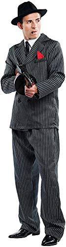 KOSTUumlM Fasching Karneval Gangster fuumlr KARNAVALKOSTUumlME Fancy Dress Halloween Cosplay Veneziano Party 4478 Size L