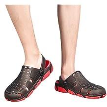 Cebbay-Sandalias y chanclas Zapatos Transpirables Antideslizantes Chanclas de Playa Ahueca hacia Fuera Las Sandalias