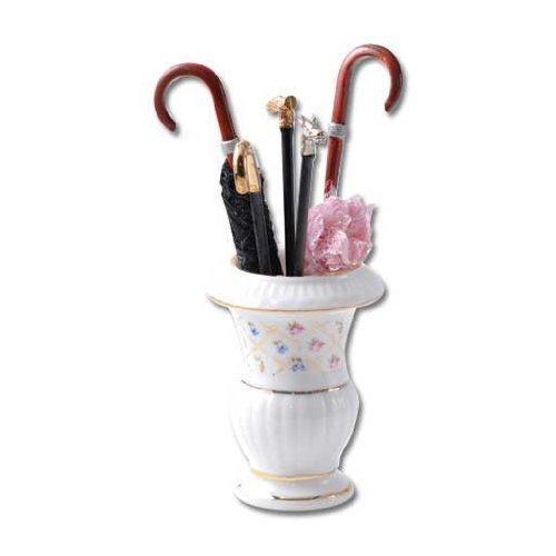 Dolls House Classic Rose Lamp Miniature 1:12 Reutter Porcelain Not Electric