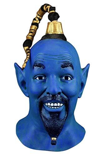 MingoTor Die magische Lampe The Magic Lamp Latex Maske Tanzmaske Kopfbedeckung Helm Cosplay