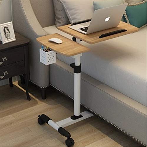 UNIQUE-F Computertisch Faltbarer tragbarer Verstellbarer Desktop-drehbarer Laptop-Betttisch kann angehoben Werden Stehpult 64 * 40CM A -