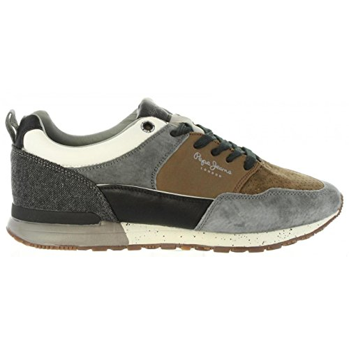 Pepe Boston Multicolore Jeans 2 Gris Sneaker 0 4An7fqF4