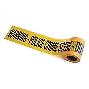 Bristol Novelty gj439escena del crimen cinta broma, color amarillo/negro, talla única