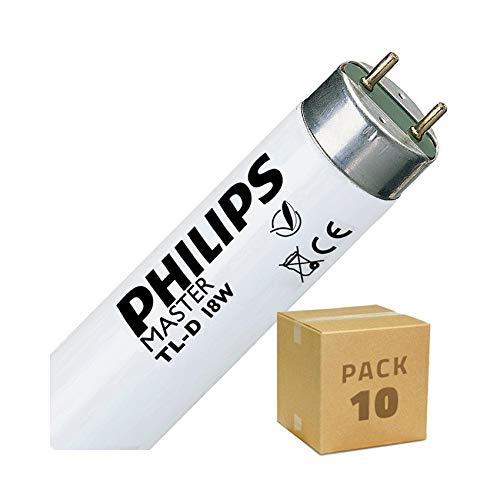Pack Tubo Fluorescente T8 600mm Connessione Bilaterale 18W (10 un)