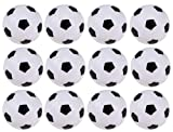 12-pack Foosball Balls Mini Table Footballs Replacements - Official Size 36 mm