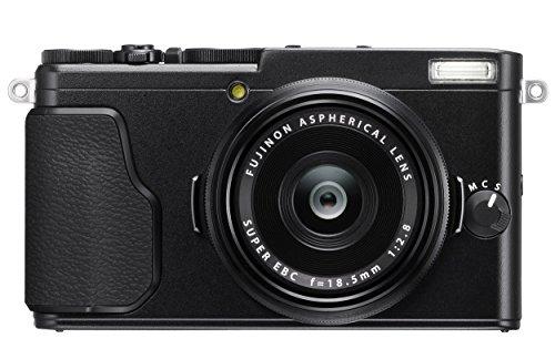 Fujifilm X70 Fotocamera Digitale da 16 Megapixel, Sensore APS-C X-Trans CMOS II, Obiettivo 18.5 mm, f/2.8, Schermo LCD 3' Touch Screen Orientabile a 180°, Otturatore Centrale, Nero