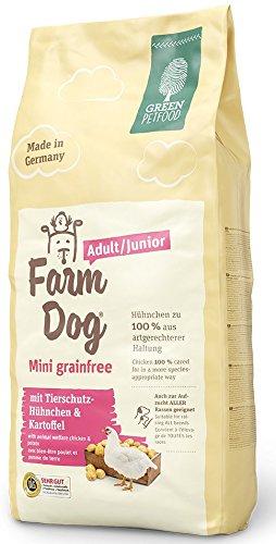 Green Petfood: Farmdog - Mini grainfree Adult/Junior 900g