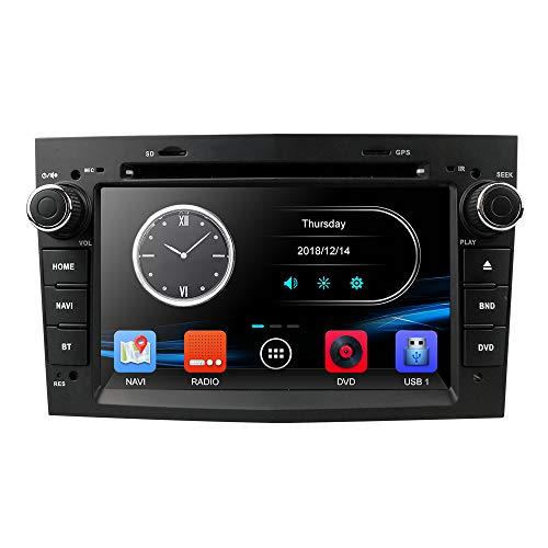 hizpo 7-Zoll-Car-Audio-Stereo-Doppel-Din in Dash für Opel Corsa Vectra Astra-Unterstützung Lenkradsteuerung GPS-Navigation DVD-Player Bluetooth-Autoradio SD USB Free 8G-Karte Car-audio