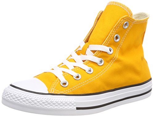 Converse Ctas Hi Orange Ray Sneaker A Collo Alto Unisex – Adulto Gelb orange Ray