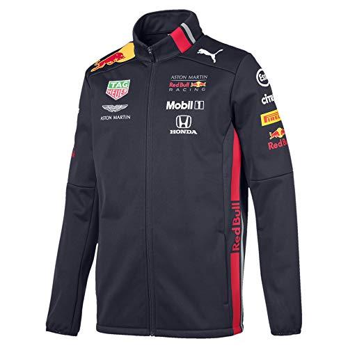 Puma Red Bull Racing Herren Team Softshelljacke Night Sky L -
