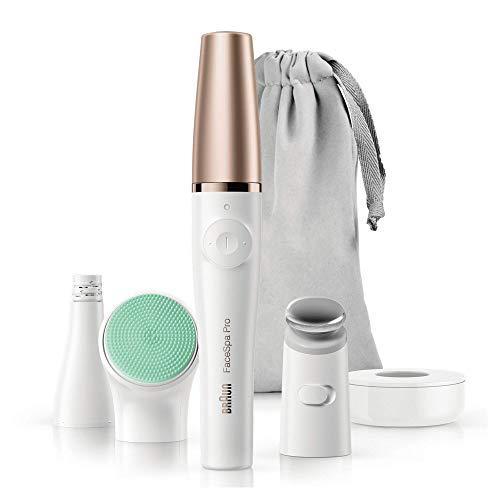 Braun FaceSpa Pro 913 - Depiladora facial 3 accesorios