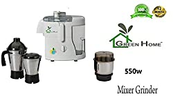 RGI Rottery JS-203 Juicer Mixer Grinder, 550 Watt (3 Jar SS)