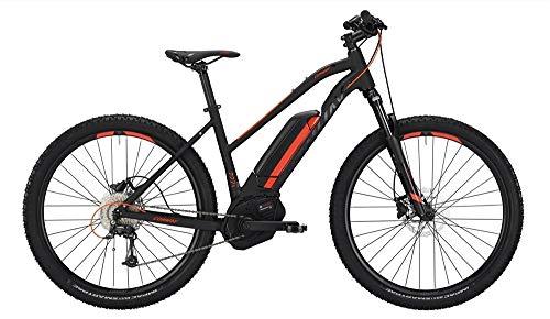 Conway EMC 227 SE 500 Damen E-Bike 500Wh E-Mountainbike Elektrofahrrad Black matt/orange 2019 RH 44 cm / 27,5 Zoll