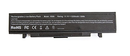 Lewe OEM Ersatzakku Akku für Samsung Notebookakku Typ Samsung 300V3A / NP300V3A / 305V5A / NP305V5A / 300E5A / NP300E5A AA-PB9NC6B, 10.8V - 11.1V, 5200mAh BZW.56Wh Replacement Batterie -
