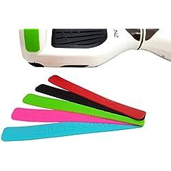 SILISKINZ® KIT DE PROTECCIÓN DE GOMA - Hoverboard Swegway 2 Wheel Smart Balance Scooter (ROSADO)