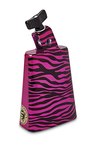 LP Latin Percussion Collect-a-Bells Purple Zebra LP204C-ZP -