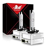 WinPower D3S Xenon Headlight Bulb 35W 12V Car HID Discharge Lamp Kit 6000K White X-treme Light, 1 Pair