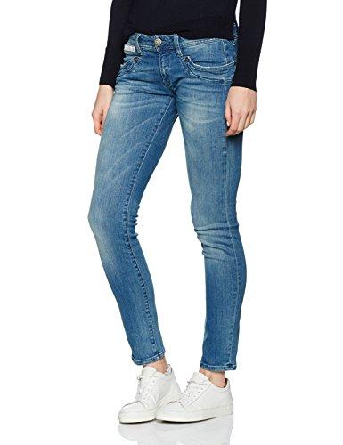 er Slim Jeans (schmales Bein), Blau (Polo 648), W32/L32 (Size:32) ()
