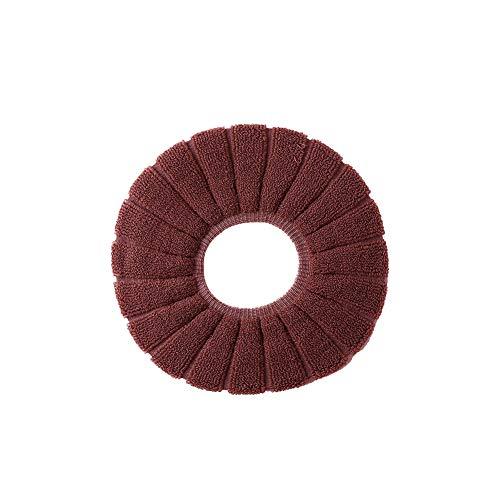 Universal-wc-sitzkissen-winter-wärmer Wc Unterstützung Multi-funktions-thickness Wc Comfort-abdeckung Pads Haushalt Toiletten-matte Dark Brown