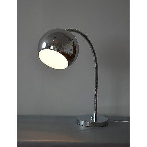 ZSQ Contemporáneo 60W Lámpara de mesa con globo de metal de sombra y luz de arco brazo , 220-240 v #178