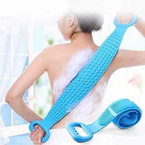 SPBROS Body Bath Brush Body Wash Brush Back Scrubber Body Washer For Dead Skin Removal For Men Women Kids Unisex (Multicolor)