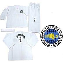 ITF Taekwondo trajes para principiantes y color cinturón Doboks