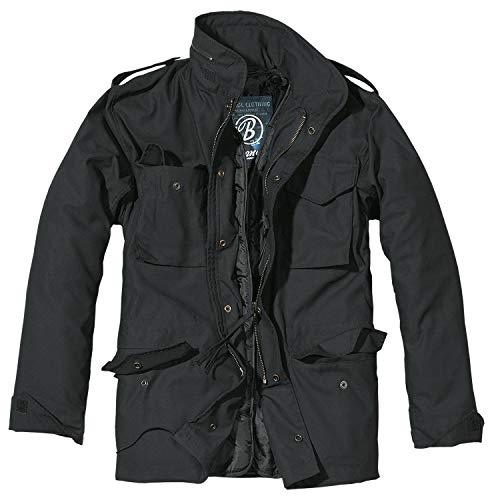 Brandit M65 Standard Jacke Schwarz 4XL