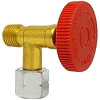 PELMOS Gasmengenventil - Regulierventil zur stufenlosen Regulierung der Gaszufuhr - Mit Absperreinrichtung - Premium Qualität
