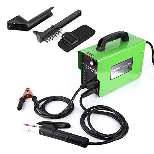 Schweißgerät, ZX7-200 220 V Schweißgerät Haushalt IGBT DC Inverter Elektrische Schweißer Set ARC (EU Stecker)