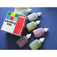 Scola MIM25/6/A - Botes de pintura efecto marmoleado (6 x 25 ml, nacarada)