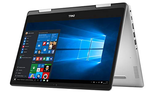 Dell Inspiron 14 5482 2-in-1 14 Inch FHD Touchscreen Convertible Laptop (Core i3-8145U/4 GB/1 TB HDD/Windows 10/MS Office/Silver/1.7 kg)