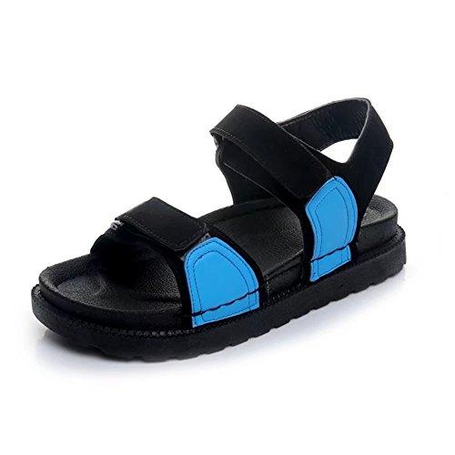 Espessura Aberto De D Praia Dedo Sapatos Com Plana De Mágicas Sandálias Estudante Adesivos Verão 0HxEqn