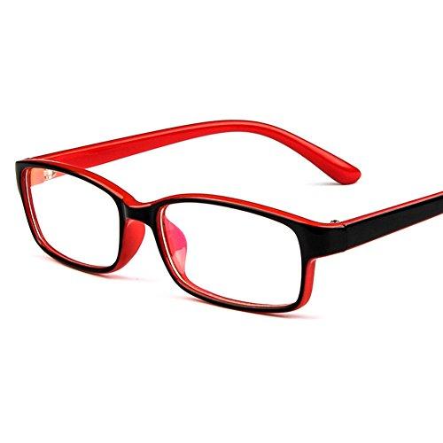 Juleya Kinder Gläser Rahmen - Kinder Brillen Clear Lens Retro Reading Eyewear für Mädchen Jungen