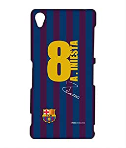 Block Print Company JERSEY INIESTA Phone Cover for Sony Z3