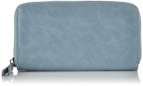 Friis & Company - Porta documenti e carte di credito, Donna, Blu (Blau (Ice Blue)), 20x12x3 cm (L x A x P)