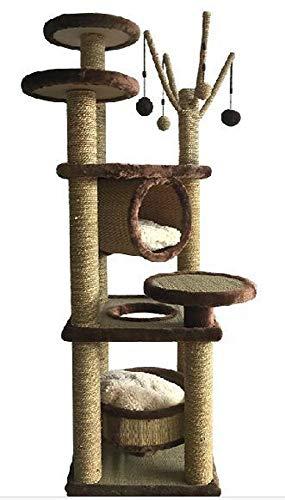 Daeou kratzbäume für Katzen Große Matte Raubkatze Rack Heimtierbedarf 45 * 45 * 128 cm