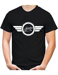 Simson Logo Männer und Herren T-Shirt | Spruch s51 DDR Moped Oldschool Geschenk