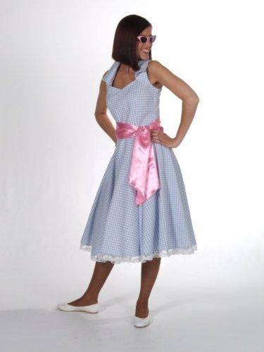(Panelize 50er 60er Jahre Sommerkleid Rock´n Roll Rockabilly Suggargirl (L))