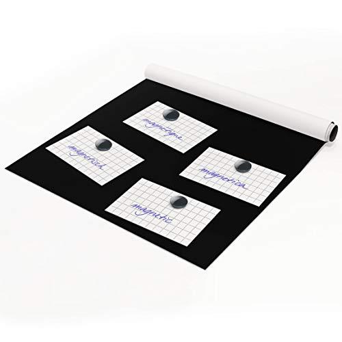 Apalis Magnetfolie - Blackboard selbstklebend - Arbeitszimmer 50 x 70 cm Pinwand - Imaging-ersatz