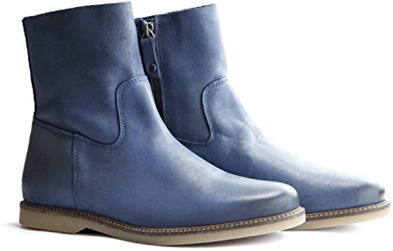 Travelin' Marseille Bottines Plates pour Femme avec Fermeture éclair éclair éclair – Ankle Boots de Cheville Hautes Hautes Bottes... 4f1a51