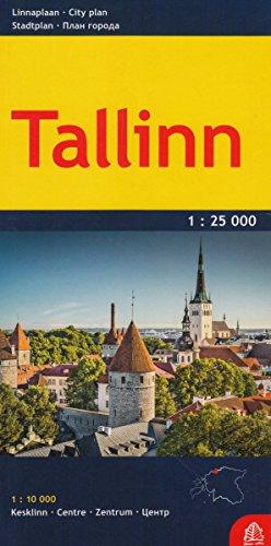 Tallinn plan miasta 1:25 000